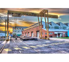 Armaments factory, Bendigo Photographic Print