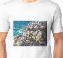 Meeresufer in Kroatien - croatian seashore Unisex T-Shirt