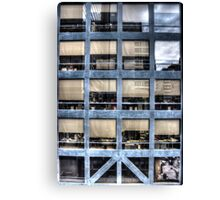 Cube farm Canvas Print