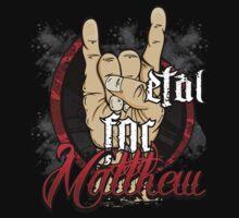 Metal For Matthew Merchandise Kids Clothes