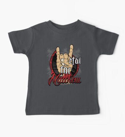 Metal For Matthew Merchandise Baby Tee