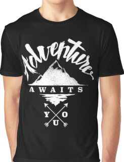 Adventure Awaits You Graphic T-Shirt