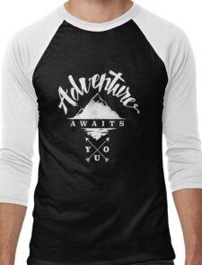 Adventure Awaits You Men's Baseball ¾ T-Shirt