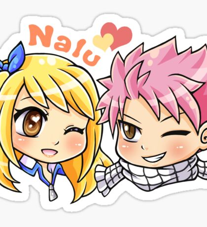 Fairy Tail - Nalu Sticker