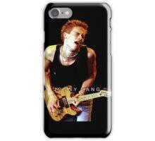 SIHALANG01 Jonny Lang Tour 2016 iPhone Case/Skin