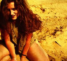 Girl in the Dunes by Franz Roth