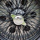 Alfa Romeo Spoked Wheel 2 by Flo Smith