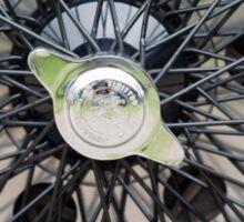 Alfa Romeo Spoked Wheel 2 Sticker