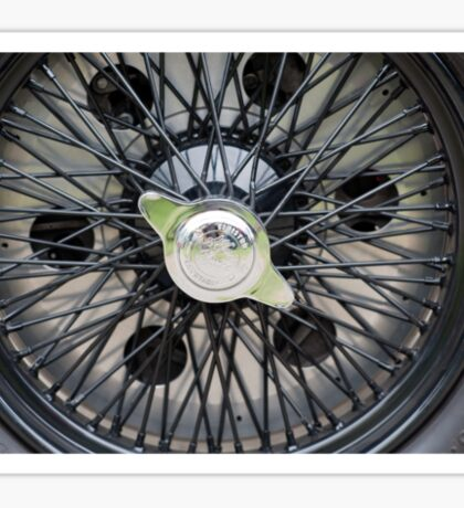 Alfa Romeo Spoked Wheel 2 Sticker