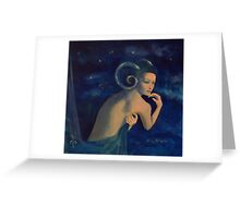 """Aries""...from ""Zodiac signs"" series Greeting Card"