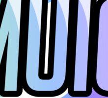 MUIC - Team Gear Sticker