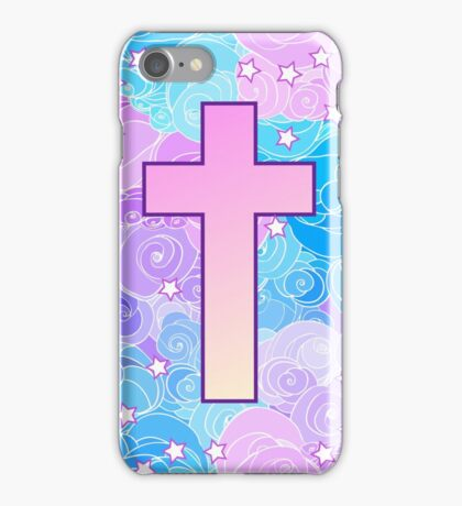 Vanilla cross iPhone Case/Skin
