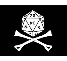 D20 PIRATE Photographic Print