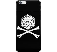 D20 PIRATE iPhone Case/Skin