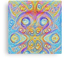 Pokemon #DeepDream Canvas Print