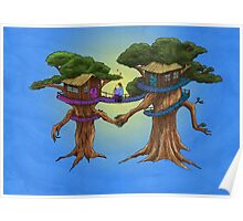 Treehouse in Love Poster