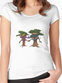 Treehouse in Love Women's Fitted Scoop T-Shirt
