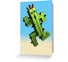 Cactuar Craft Greeting Card