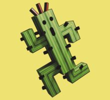 Cactuar Craft Kids Tee