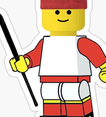 Field Hockey Man! Sticker