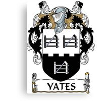 Yates Coat of Arms (Donegal, Ireland) Canvas Print