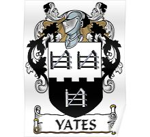 Yates Coat of Arms (Donegal, Ireland) Poster