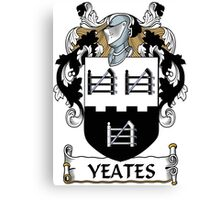 Yeates Coat of Arms (Donegal, Ireland) Canvas Print