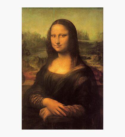 Leonardo da Vinci's Mona Lisa Photographic Print
