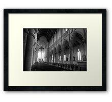 Bendigo Cathedral Framed Print