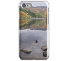 Colours at Loch Faskally nr Pitlochry, Perthshire, Scotland iPhone Case/Skin