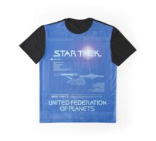 Star Trek USS Enterprise Graphic T-Shirt