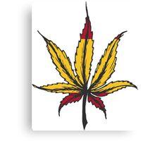 Cannabis leaf  Canvas Print