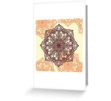 Lacy Mandala  Greeting Card