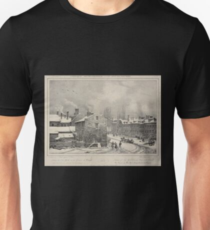 246 Interior of New York Provost Street and Chapel Unisex T-Shirt