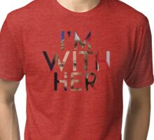 I'm with Hillary Tri-blend T-Shirt