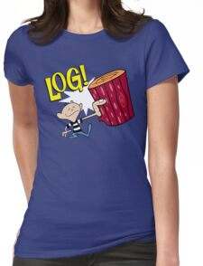 Log! Womens Fitted T-Shirt