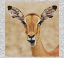 Impala Fun - Wildlife Humor from Africa.  One Piece - Short Sleeve