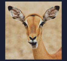 Impala Fun - Wildlife Humor from Africa.  Baby Tee