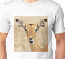 Impala Fun - Wildlife Humor from Africa.  Unisex T-Shirt