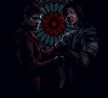 Dean Winchester and Sam Winchester by Armellin