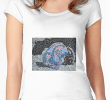 'Saudades Eternas'~2012 by Denise Vieira Women's Fitted Scoop T-Shirt