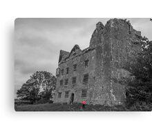 Lemaneagh Castle, The Burren, Ireland Canvas Print