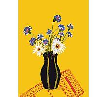 Bright flower bouquet Photographic Print