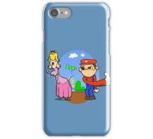 Princess Peach is in da' castle! iPhone Case/Skin