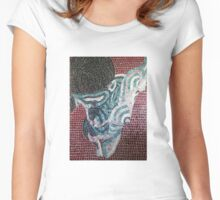 'Luv-Un-Til-We-Bleed'~2012 by Denise Vieira Women's Fitted Scoop T-Shirt