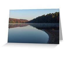 Tranquil Autumn Mirror -  Greeting Card