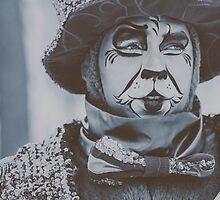 Festival Clown by Valerie Rosen