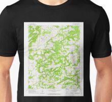 USGS TOPO Map Arkansas AR Morganton 259126 1961 24000 Unisex T-Shirt