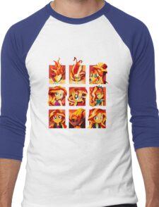 Forms of Sunset Shimmer Men's Baseball ¾ T-Shirt