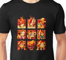 Forms of Sunset Shimmer Unisex T-Shirt